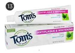 Toms of Maine Antiplaque and Whitening Fluoride free Natural Toothpaste