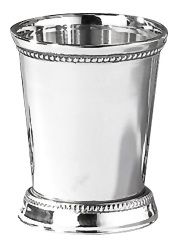 Stainless Stell beaded Mint Julep Cup