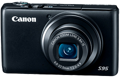 Canon Powershot s95 Digital Camera