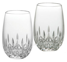 Waterford Lismore Stemless Glasses