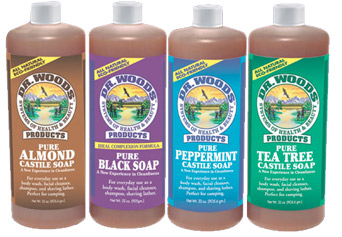 Dr. Woods All Natural Liquid Soaps