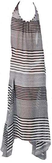 JOSA Tulum Halter Coverup Maxi Dress