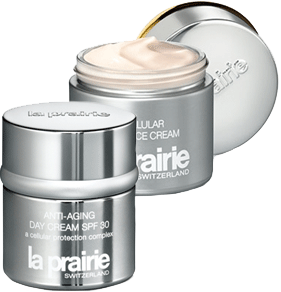 La Prarie Anti Aging Day Cream and Night Cream
