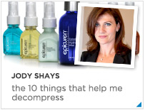 Jodi Shay's De-stressing tips