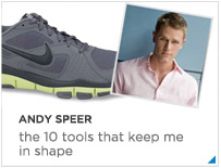 The 10 - Andy Speer, Equinox Trainer