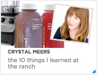 Crystal Meers - The 10 things I learned at The Ranch Malibu