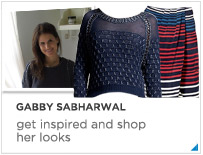 Gabby Sabharwal--my five favorite outfits