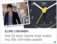 Elise Loehnen - The 10 tech items that make my life infinitely easier