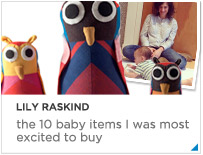 Lily Raskind Top 10 baby items