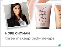 Hope Choman - 3 makeup pick-me-ups.
