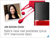 Jin Soon Choi Fall Nails + DIY Manicure tips