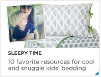 Sleepy Time - great kids bedding lines