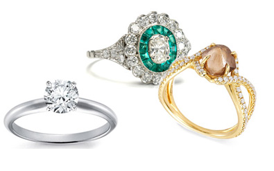 Shopping 101: Engagement Rings
