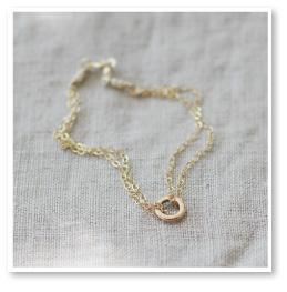Kavala Gold Circle Bracelet