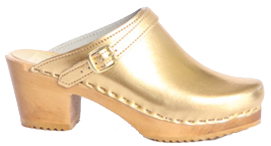 Sven Gold Clogs