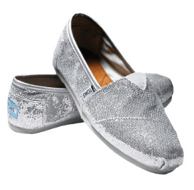 TOMS Shoes Glitter Shoe