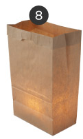 Luminary Bags & Votive Candles