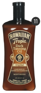 Hawaiian Tropic Suntan Oil
