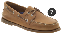 Original Sperry Top-Sider Brown Boat Shoes