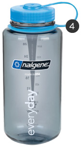 A Nalgene Water Bottle