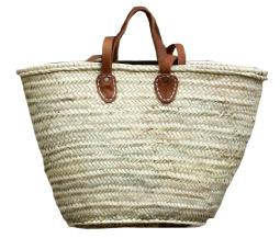 New High Mart French Moroccan Market Basket Bag
